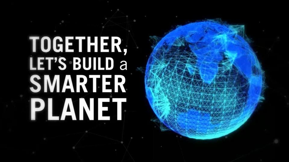 Together, Let's Build a Smarter Planet