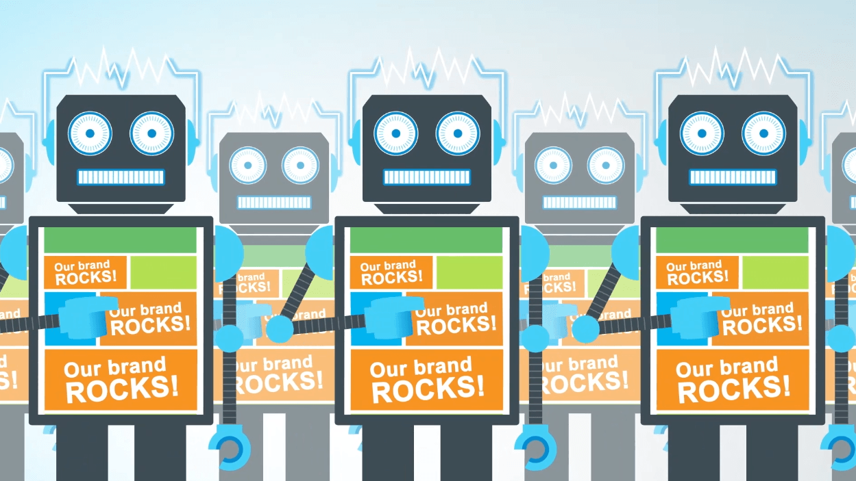 Our Brand Rocks Robots